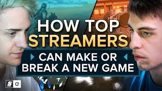 Download How Top Streamers like Ninja, Shroud and DrDisRespect Can Make or Break a New Game Video