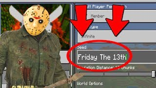 Download Minecraft : FINDING FRIDAY THE 13TH JASON SECRET WORLD! (Ps3/Xbox360/PS4/XboxOne/PE/MCPE) Video