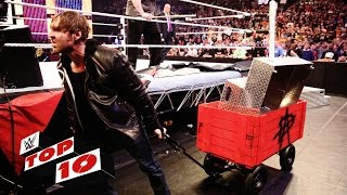 Download Top 10 Raw moments: WWE Top 10, March 28, 2016 Video