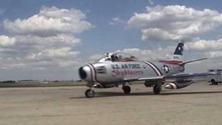 Download Andrews AFB Airshow 2006 - Mig-17 & F-86 dogfight Video