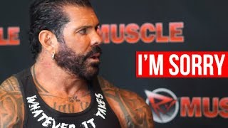 Download Rich Piana Apologizes! Live With on RXMuscle Video