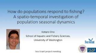 Download How do populations respond to fishing? A spatio-temporal investigation of population dynamics Video