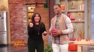Download Watch Rach Play Football with Giants Comeback Kid Victor Cruz Video