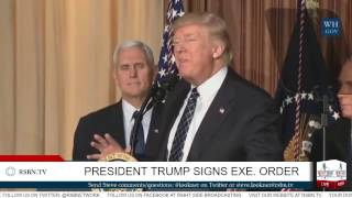 Download President Trump Signs an Energy Independence Executive Order Video