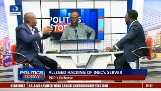 Download Alleged Hacking Of INEC's Server: APC Tells PDP To Prove 1.6m Votes As Galadima Insists On Victory Video