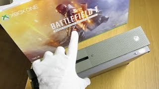 Download Xbox One S Battlefield 1 Special Edition Unboxing + Gameplay (1TB Bundle) Video
