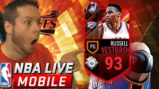 Download LOL WESTBROOK! NBA LIVE MOBILE PLAYOFF PACKS! Video