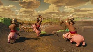 Download Clash of Clans: Hog Rider 360° Video