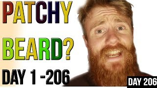 Download PATCHY BEARD TIP #2 | ADVICE - Day 1 to 206 BEARD GROWTH in Less than 1 MINUTE Video