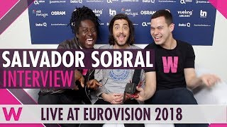 Download Eurovision winner Salvador Sobral @ 2018 grand final (INTERVIEW) Video