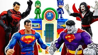 Download Superman Became A Monster~! PJ Masks, It's Time To Be A Hero #ToyMartTV Video
