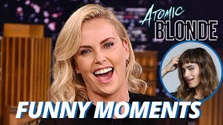 Download Charlize Theron Wants Sofia Boutella To Be Her Girlfriend!!! (Funny Moments) Video