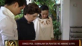 Download 24 Oras: Grace Poe, dumalaw sa puntod ng amang si FPJ Video