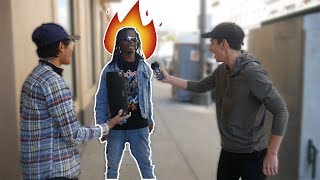 Download Asking RANDOM People to Freestyle on MY BEATS!! (PART 3) Video