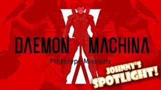 Download Johnny's SPOTLIGHT! - Daemon X Machina: Prototype Missions Video