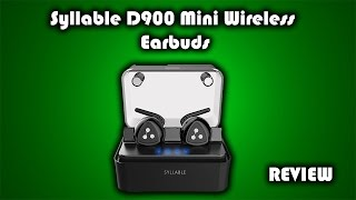 Download Wireless Earbuds $49?? - Syllable D900 Mini Wireless Earbuds Review Video