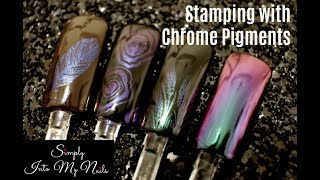 Download Stamping with Chrome Pigments Video