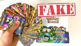 Download 100 ULTRA RARE PULLS??! FAKE POKEMON CARD BOOSTER BOX OPENING! Video
