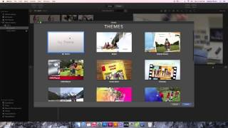 Download iMovie - Create a New Event & Project Video