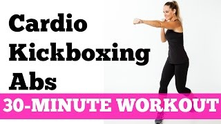 Download Abs Cardio Workout: 30-Minute Kickboxing Cardio Abs Full Length No Equipment Video