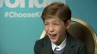 Download Jacob Tremblay on Transforming into Auggie Pullman in WONDER Video