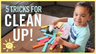 Download 5 Tricks to Get Kids to CLEAN UP! Video