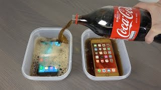 Download Samsung Galaxy S7 Edge vs. iPhone 6S Plus Coca-Cola Freeze Test 9 Hours! Will It Survive ? Video