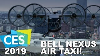 Download BELL Nexus at CES 2019! Air Transportation of the Future! Video