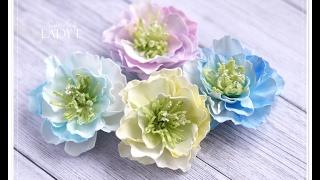 Download Foamiran Flowers & Centres Tutorial - Lady E - Video