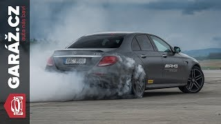 Download Mercedes-AMG E63 S 4Matic+ / Test GARÁŽ.cz / Permanent AWD with a variable distribution Video