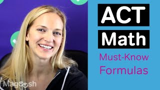 Download 6 ACT Math Formulas You MUST KNOW Video