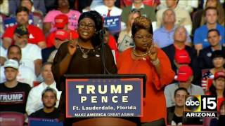 Download FULL SPEECH: Diamond & Silk bring the HOUSE DOWN for Donald Trump in Ft. Lauderdale - CHOO CHOO Video