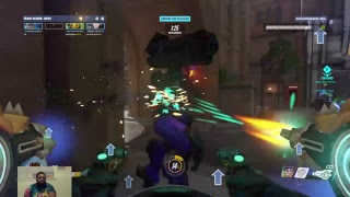Download CAN NERDSTER FEND OFF THE EVIL OMNICS FROM ATTACKING KING'S ROW- Overwatch: UPRISING EDITION Video