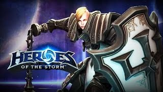 Download ♥ Heroes of the Storm (Gameplay) - Johanna, Best Tank NA (HoTs Quick Match) Video