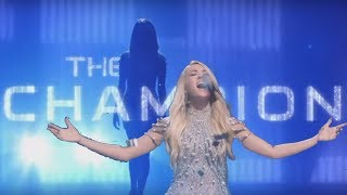 Download Carrie Underwood ″The Champion″ Superbowl 2018 Opening Song ft. Ludacris (Lyrics in Captions) Video