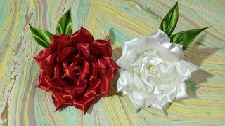 Download DIY Fabric flower- 3- Rose 🌹🌹🌺 Video