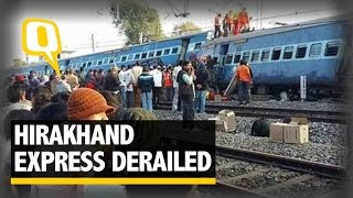 Download The Quint| Hirakhand Express Derail: At least 32 Dead, Rescue Op Underway Video