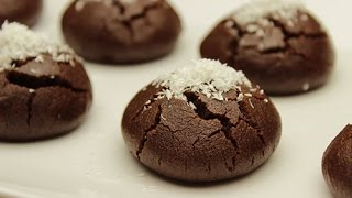 Download Moist Chocolate Cookies Recipe - Cocoa Cookies with Sugar Syrup Video