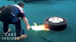 Download How Tires Are Mounted Using Mini Explosions Video