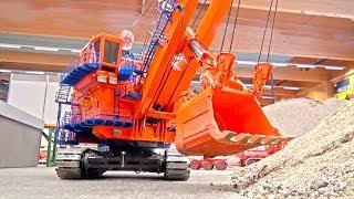 Download BIG Excavator Transport I 70 KG I BUCYRUS 495HR I MonsterExcavator I ModellbauWels Video