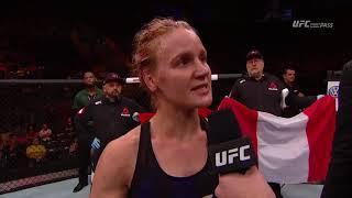 Download Fight Night Belem: Valentina Shevchenko Octagon Interview Video