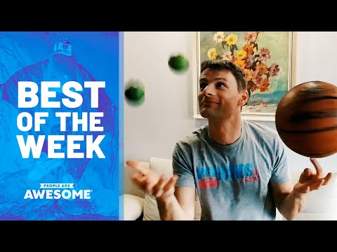 Amazing Strength, Cliff Paragliding, Multitask Juggling & More | Best of the Week