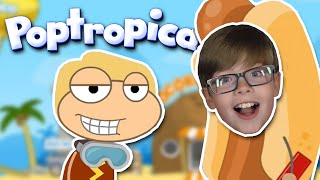 Download POPTROPICA!! HOME ISLAND QUEST!! Video