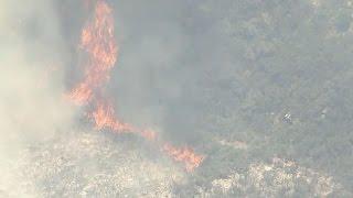 Download Utah battling major wildfire Video