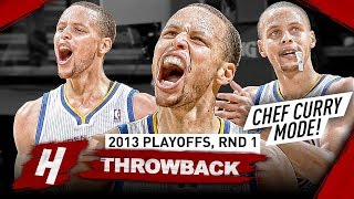Download The Series Stephen Curry Became CHEF CURRY! Full Highlights vs Nuggets 2013 Playoffs - Playoff Debut Video