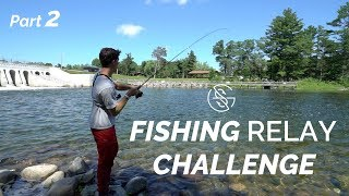 Download Fishing LARGE SPILLWAY (Relay Challenge part 2) Video