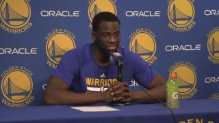 Download Draymond Green seemed very, very unhappy with the officiating in 2OT loss to Rockets Video