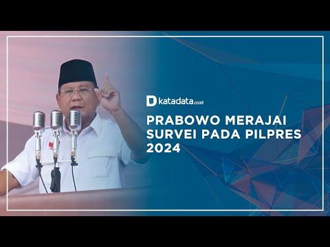 Prabowo Merajai Survei Pada Pilpres 2024