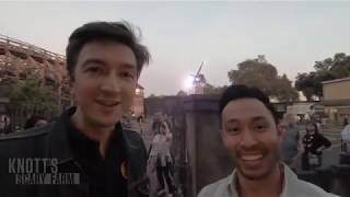 Download Ryan and Shane from Buzzfeed Unsolved visit Knott's Scary Farm 2018 Video