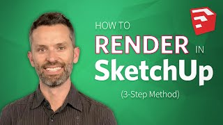 Download Learn How to Render in SketchUp (3-Step Method) Video